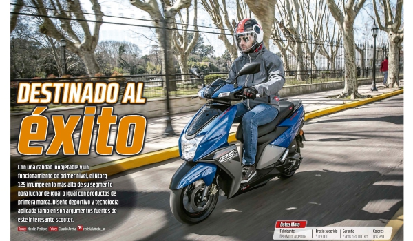 Ntorq 125 - Test Ride por Revista La Moto